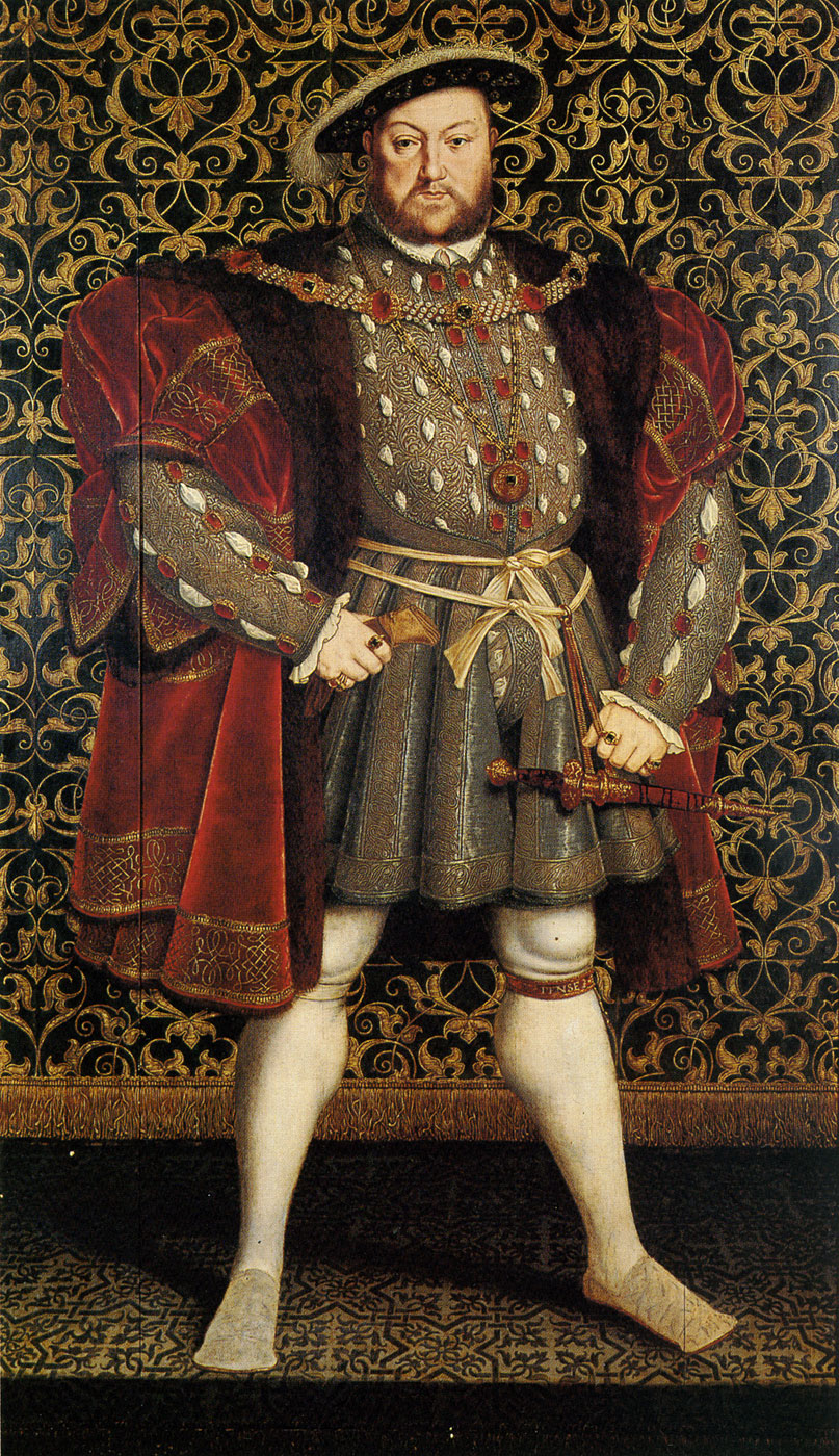 Henry VIII by Hans Holbein the Younger (1536/1537)