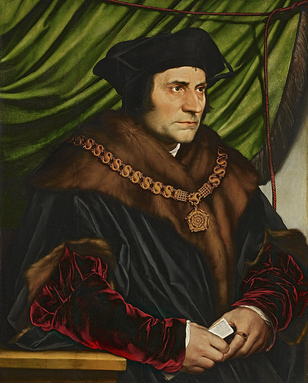 Sir Thomas More by Hans Holbein the Younger (1527)