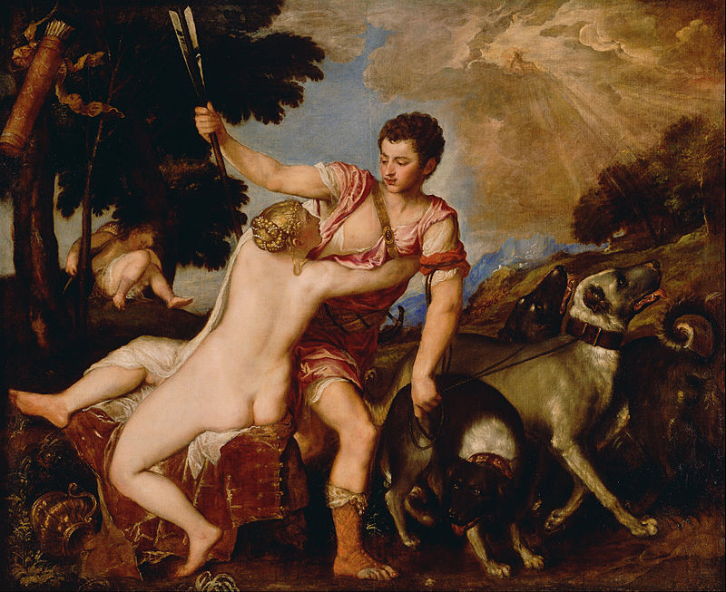 Titian, Venus and Adonis (c.1554)