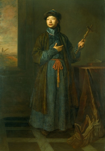 Godfrey Kneller, The Chinese Convert (1687)