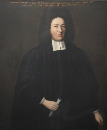 Unknown artist, Thomas Hyde, c. 1701