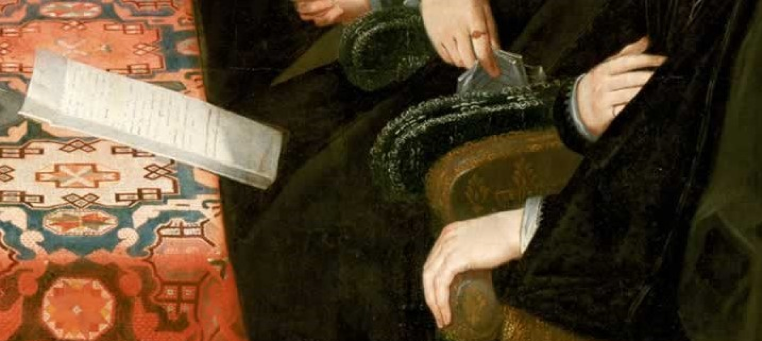 Detail from the Somerset House Conference painting, 1604, The National Portrait Gallery.